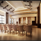 Continental Auditorium Distribution Free 3dmax Model