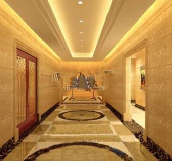 Star Hotel Hallway