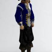 Pirate Man Free 3dmax Model