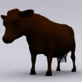 Free 3dmax Model Of Cow