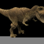 Animal Free 3dmax Model: Tyrannosaurus 3ds Max Free 3dmax Model