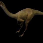 Longicollous Dinosaur Free 3dmax Model
