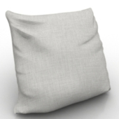 White Pillow Free 3dmax Model