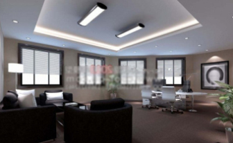 Casual Office Interior Space