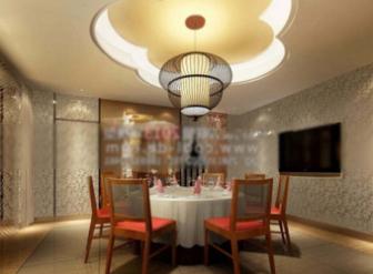 Retro Restaurant Space