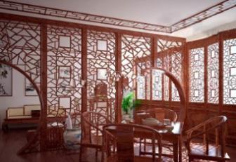 Retro Wooden Restaurant