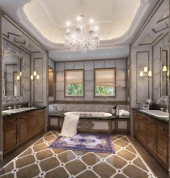 Interior bathroom design free 3dmax model free download for Bathroom design 3d free download