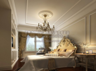 Luxury Bedroom 3dmax Model Interior Scene Free Download