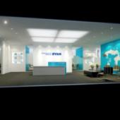 Company Hall Free 3dmax Model