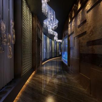 The Lounge Bar Corridor Interior