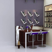 Home Bar Free 3dmax Model