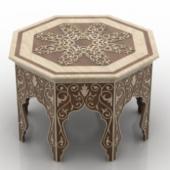 Continental Desk Furniture 3dmax Model