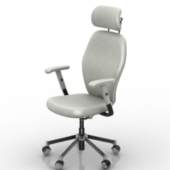 Comfortable Office Chair Free 3dmax Model