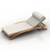 Cozy Balcony Chair Free Furniture 3dmax Model