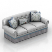 Chaise Sofa Furniture 3dmax Model