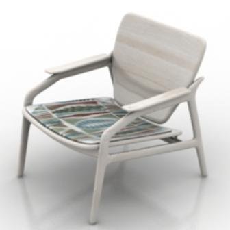 Recumbent Chair Furniture 3dmax Model