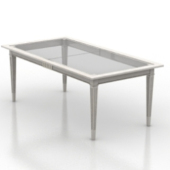 Glass Table Free Furniture 3dmax Model