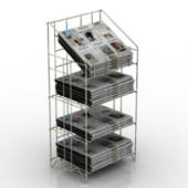 Newspaper Cabinet Free 3dmax Model