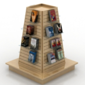 Covered With Photos Of Showcase Free 3dmax Model