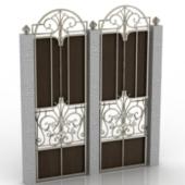 Classic Door Free 3dmax Model