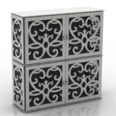 Decoration Drawers Free 3dmax Model