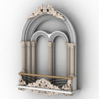 Decoration Castle Windows