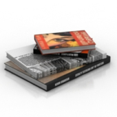 Books Free 3dmax Model