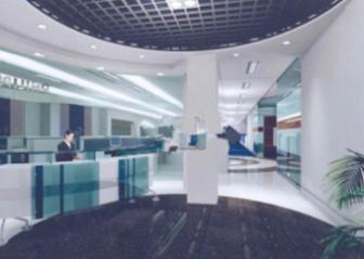 Company Reception Interior Scene Free 3dmax Model