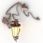 Leaf Style Wall Lamp