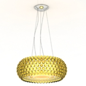 Golden Chandelier Luxury Design Free 3dmax Model