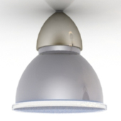 Ceiling Metal Lamp Free 3dmax Model