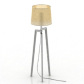 Tripod Table Lamp Free 3dmax Model