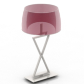 Purple Table Lamp Free 3dmax Model