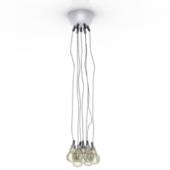 Cluster Chandelier Pendant Lamp Free 3dmax Model