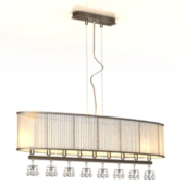 European Luxury Style Chandelier Free 3dmax Model