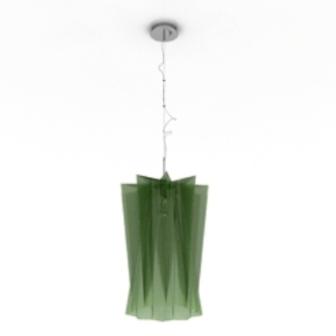 Green Chandelier Free 3dmax Model