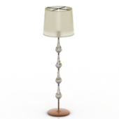 Exquisite Crystal Floor Lamp Free 3dmax Model