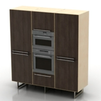 Free 3dmax Model Home Cabinets
