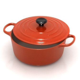 Red Creative Cooker