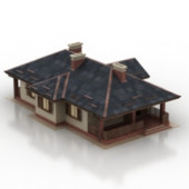 Creative House Free 3dmax Model