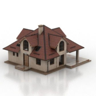 Senior Villa Free 3dmax Model