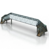 Free 3dmax Model Of Iron Girder Bridge