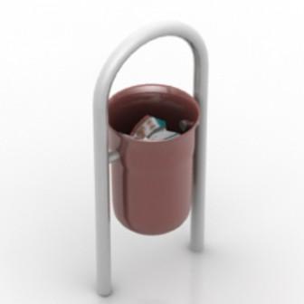 Brown Trash Free 3dmax Model