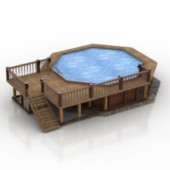 Swimming Design Free 3dmax Model