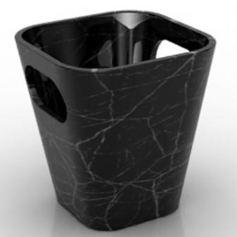 Coffee Bar Trash Free 3dmax Model