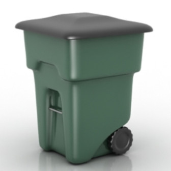 Free 3dmax Model Of Wheel Bins