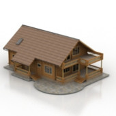 Common Huts Housing Free 3dmax Model