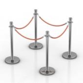Public Guardrail Free 3dmax Model