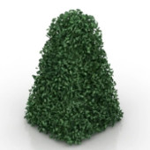 Green Hedge Free 3dmax Model