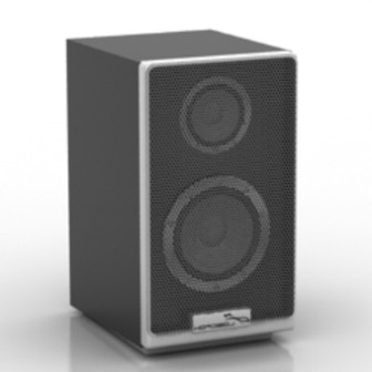 Computer Sound Free 3dmax Model